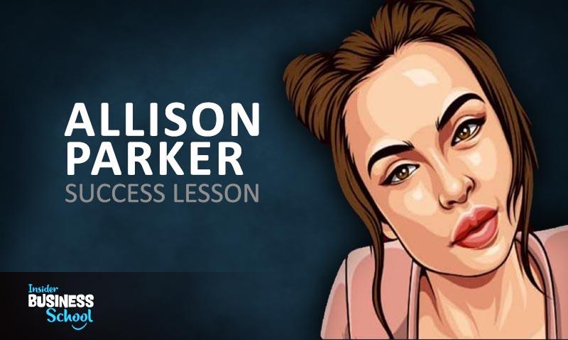 Alison Parker Success Lessons FI