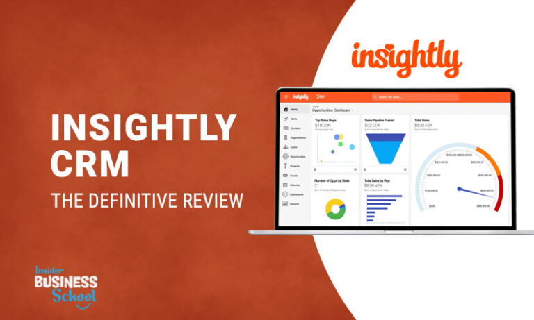 Insightly CRM Review (2021) [Definitive Guide]