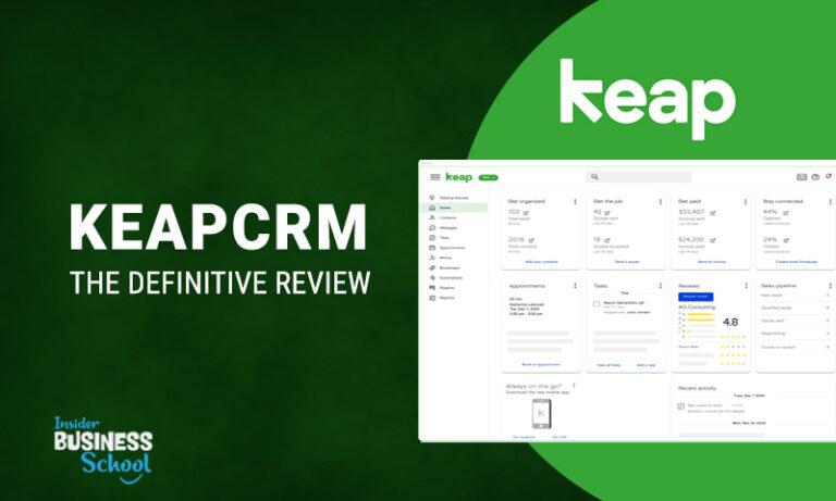 Keap CRM Review [Definitive Guide] 2021